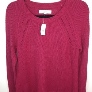 Loft Sweater Cable Fall